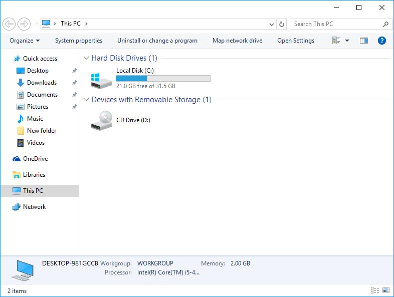 Lassen Sie den Windows 10 Datei-Explorer wie den Windows 7-Datei-Explorer aussehen. Wenn Sie das Aussehen des Windows 7-Datei-Explorers bevorzugen und Windows 10 verwenden, gehen Sie wie folgt vor, um den Windows 10 Datei-Explorer wie Windows 7 aussehen zu lassen.