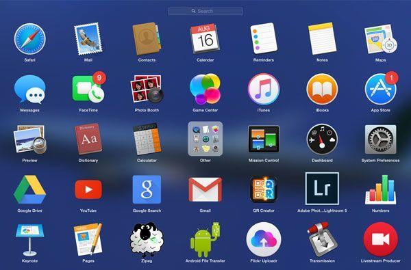 So organisieren Sie Ihre Anwendungen mit LaunchPad in OS X