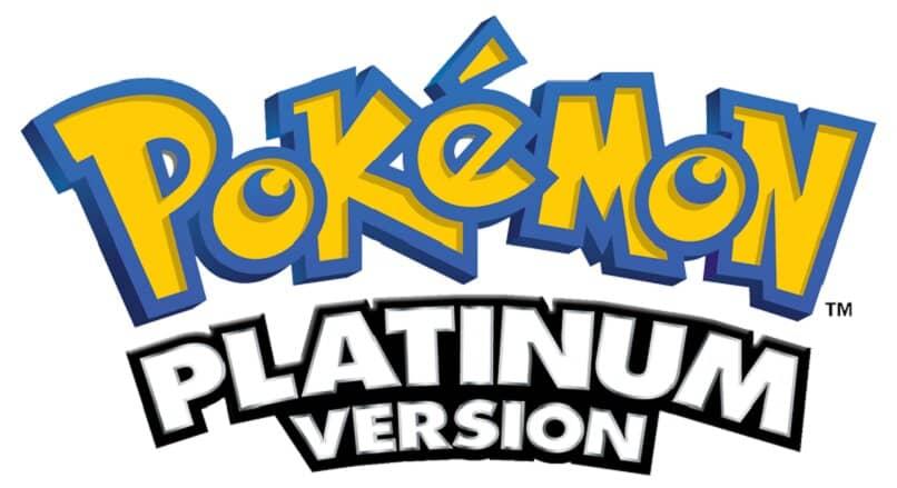 pokemon platin logo weißer hintergrund