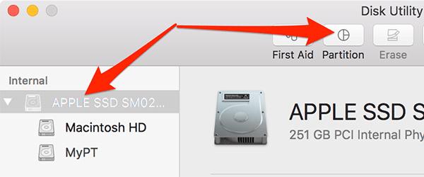 So löschen und entfernen Sie eine Partition von Ihrem Mac
