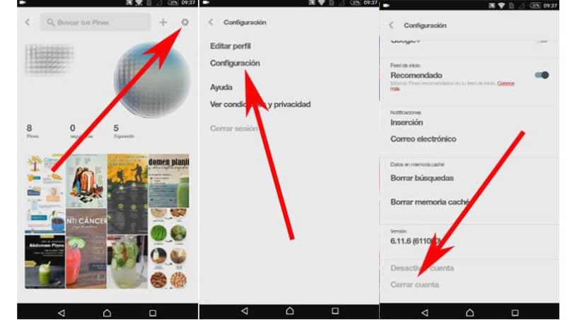 Pinterest vom Handy entfernen