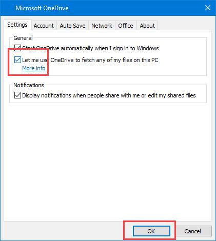 So verwenden Sie OneDrive für den Remotezugriff auf Dateien in Windows 10
