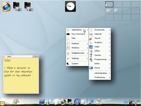 Wollen Sie ein schönes Betriebssystem?  Versuchen Sie es mit Elive