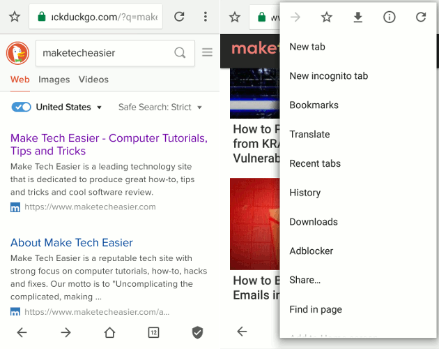 5 der besten Android-Browser mit AdBlock-Funktionalität Neben dem Desktop gibt es auch Werbeblocker für Ihr Mobilgerät.  Hier sind einige der besten Android-Browser mit Funktionen zum Blockieren von Anzeigen.