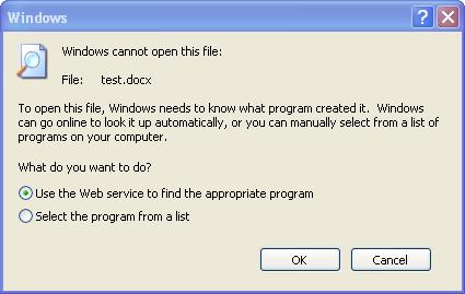 Anzeigen von DOCX-Dateien mit Word Viewer für Windows