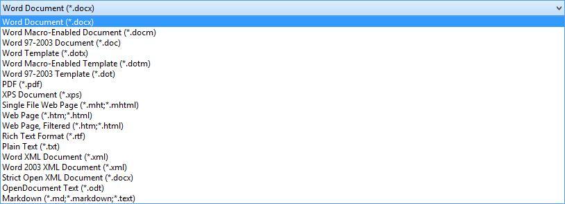 MTE erklärt: Gängige Dateiformate für Textverarbeitungsprogramme Wenn Sie jemals ein Dokument zur Verwendung auf einem anderen Computer gespeichert haben, wissen Sie, dass Sie zwischen mehreren Dateiformaten wählen können.  In diesem Artikel behandeln wir die zahlreichen Dateiformate im Zusammenhang mit Dokumenten.