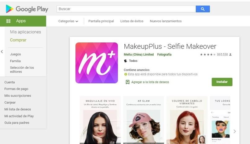 Simulator-Make-up-Bilder