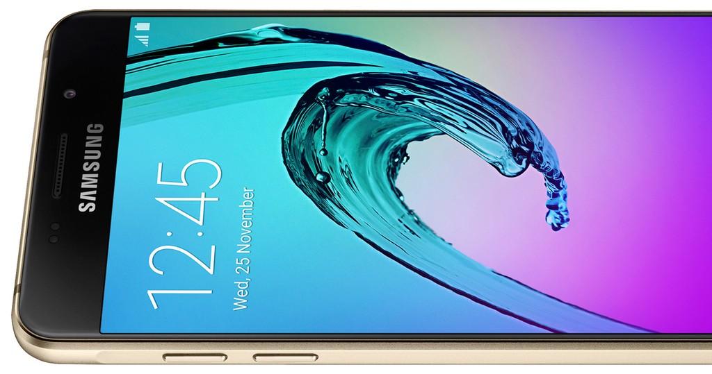 Samsung Mobile bleibt auf dem Logo