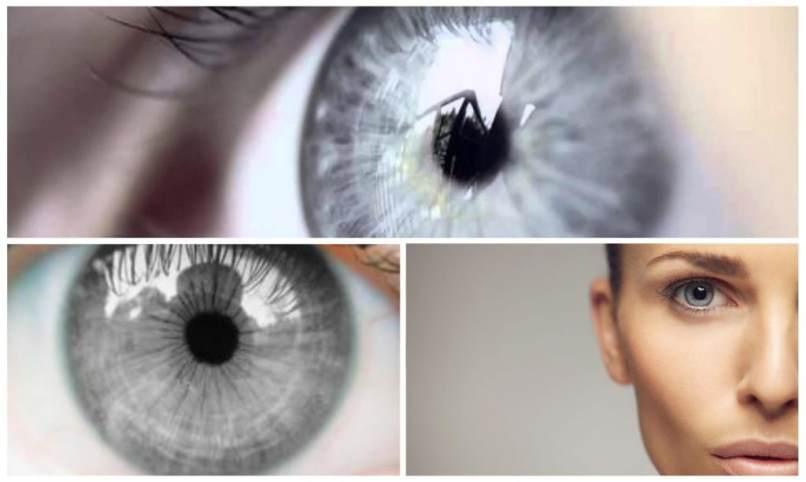 natürliche graue Augen Edition