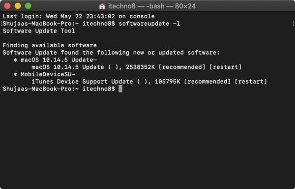 So aktualisieren Sie Ihren Mac mit Terminal.  Die Verwendung von Terminal zum Aktualisieren Ihres Mac kann Zeit sparen und für viele einfacher sein, zumal der Mac App Store bekanntermaßen auf älteren Geräten verzögert.