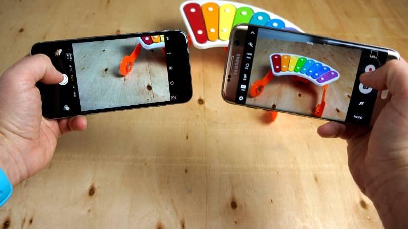 Vergleich von Samsung-Handykameras