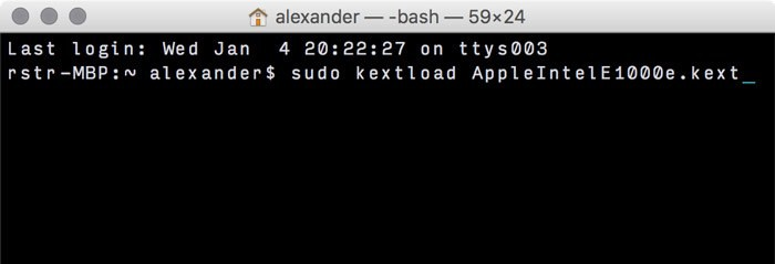 Hinzufügen und Entfernen von Kexts zu macOS - 19