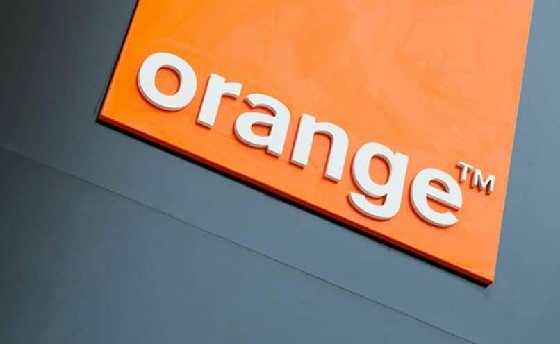 orange Geschäft