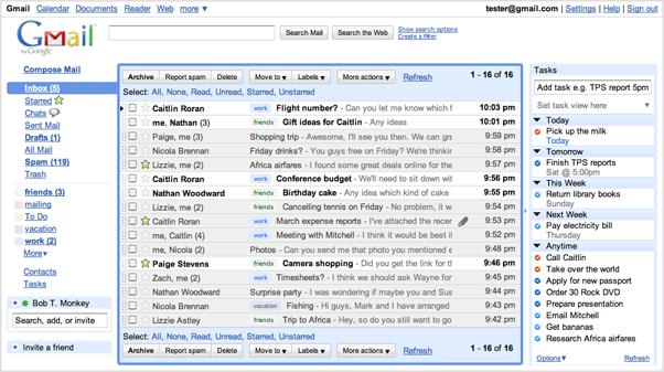gmail eingeben