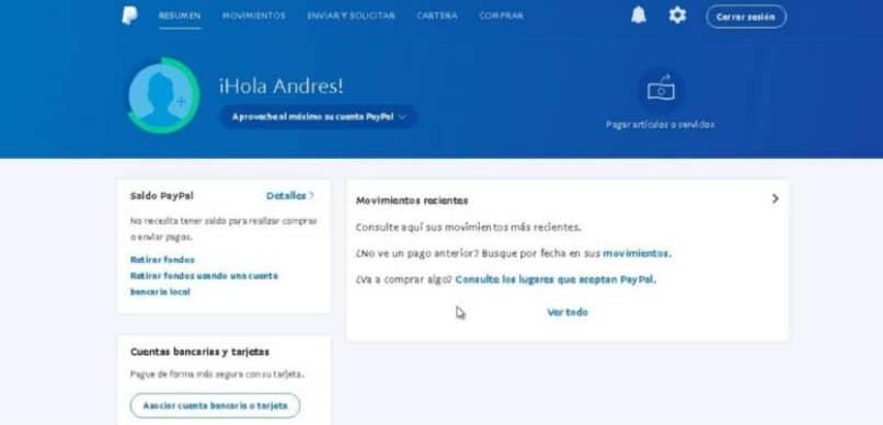 PayPal-Kontostatus
