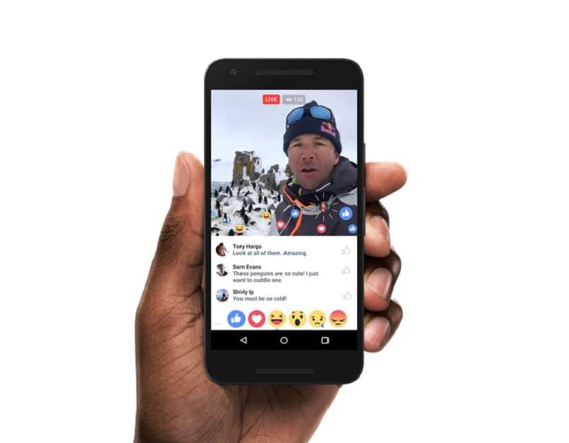Live-Stream mit Facebook Live