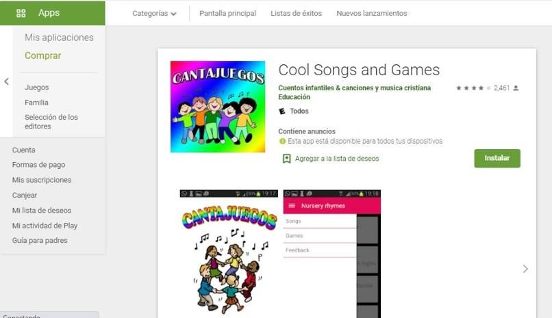 Verwenden Sie die App, um Android-Spiele zu singen