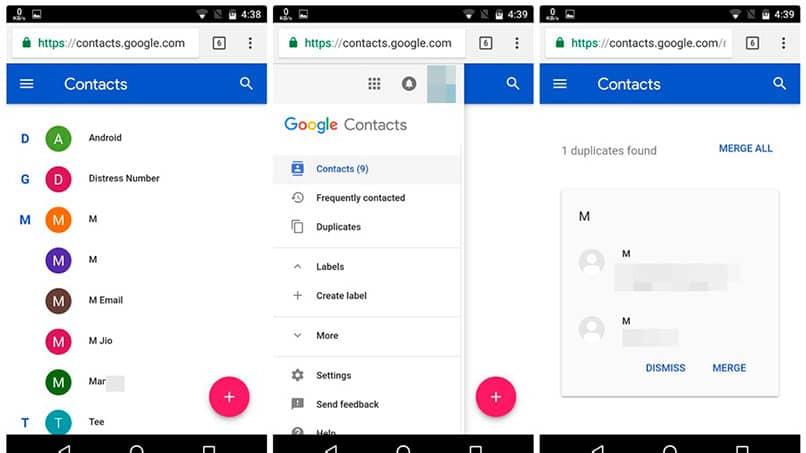 In Google synchronisierte Kontakte löschen