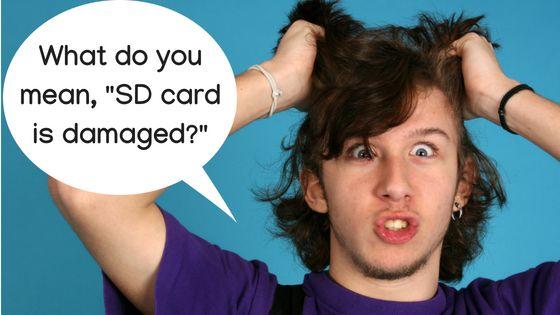 So reparieren Sie Ihre Micro SD-Karte und stellen gelöschte Daten wieder her