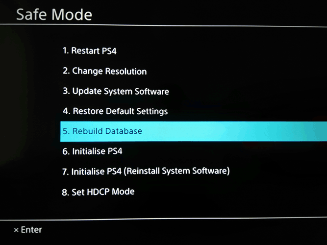So reparieren Sie beschädigte Daten auf Ihrer PS4