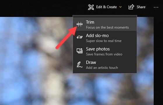 So schneiden Sie ein Video in Windows 10 ohne Verwendung einer Drittanbieter-App