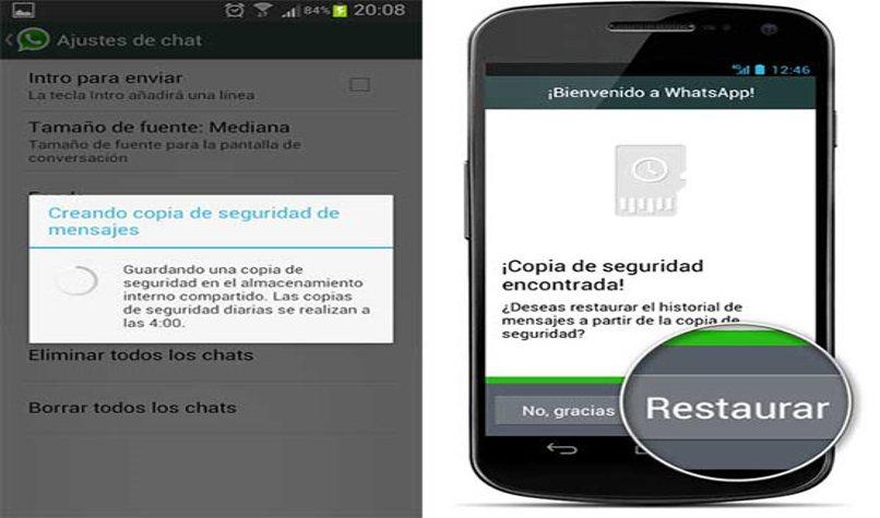 WhatsApp-Nachricht wiederherstellen