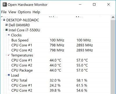 So überprüfen Sie die CPU-Temperatur Ihres Laptops in Windows 10 - 2