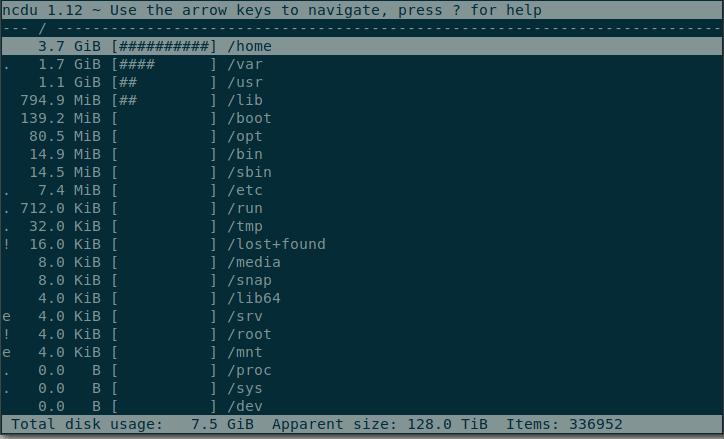 So überprüfen und verwalten Sie den Speicherplatz unter Linux - 6