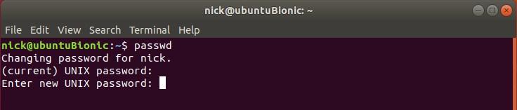 So verwalten Sie das Benutzerpasswort vom Terminal unter Linux