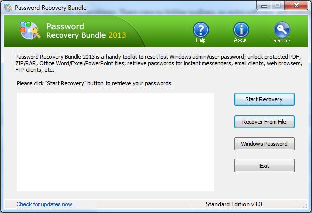 Stellen Sie Passwörter für Windows-Apps mit dem Password Recovery + Giveaway-Paket wieder her
