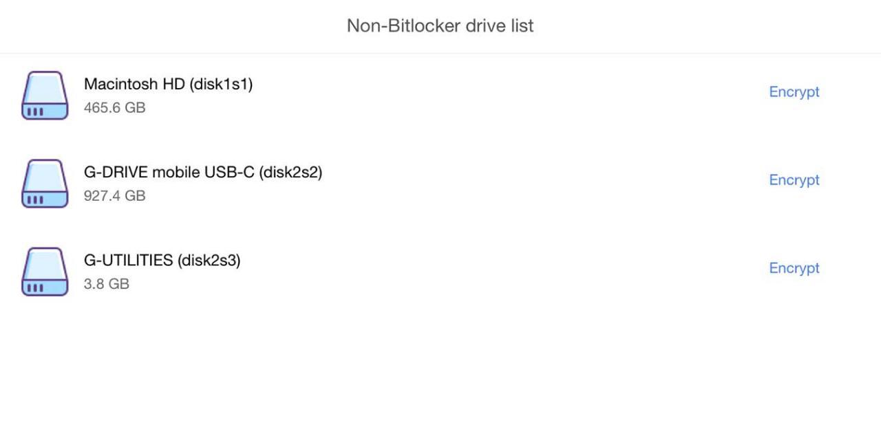 Verwenden Sie den M3 Bitlocker Loader Mac, um verschlüsselte Laufwerke zu öffnen