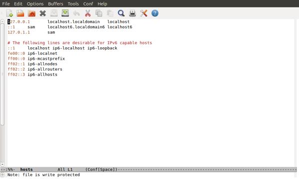 Verwendung der Hosts-Datei unter Linux