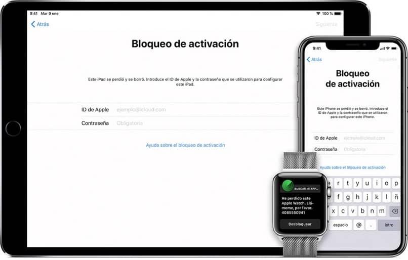 ipad iphone gesperrt